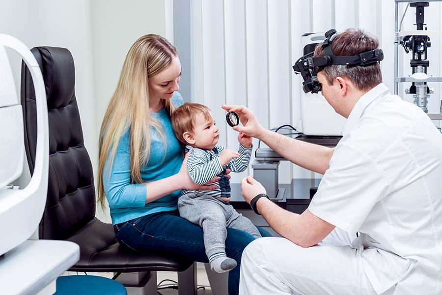 Exame de vista em bebês e crianças: como são feitos?