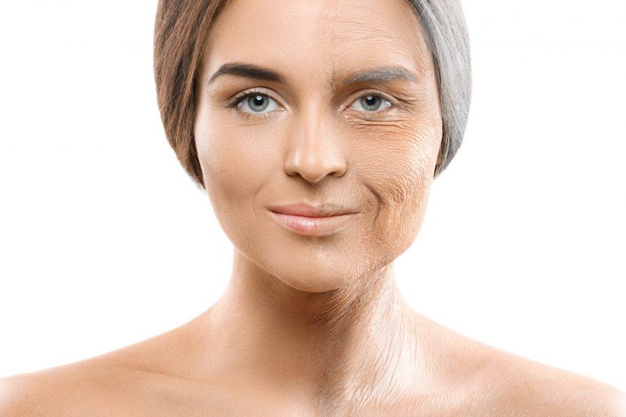 Como o rosto envelhece e qual é a forma de lidar com ele?